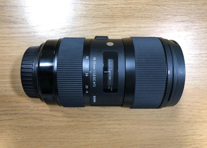 Sigma Art 18-35 f/1.8 Lens (Canon Fit) - 1