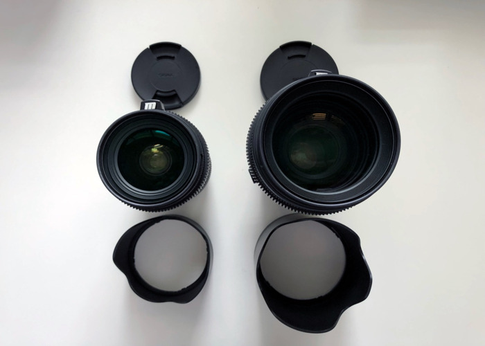 Sigma Art 18-35mm & 50-100mm F1.8 EF Lenses - 2