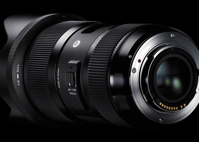 Sigma Art 18-35mm 1.8 EF Mount Zoom Lens - 1