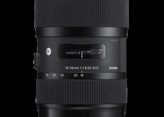 Sigma Art 18-35mm 1.8 EF Mount Zoom Lens - 2