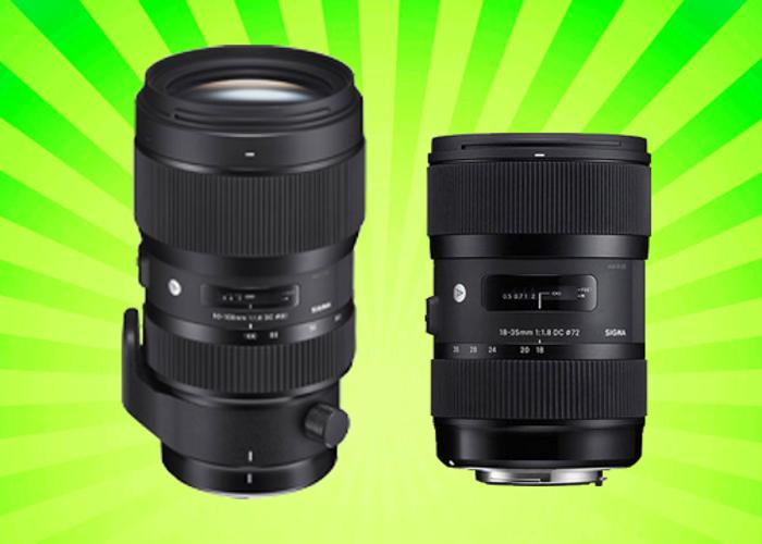 Sigma Art 18-35mm F1.8 + Sigma Art 50-100mm F1.8 Lens Combo - 1