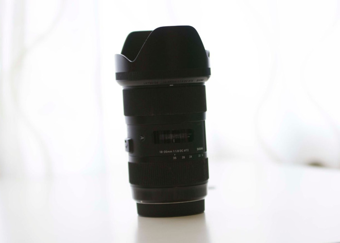 Sigma Art 18-35mm F1.8 Canon Fit - 1