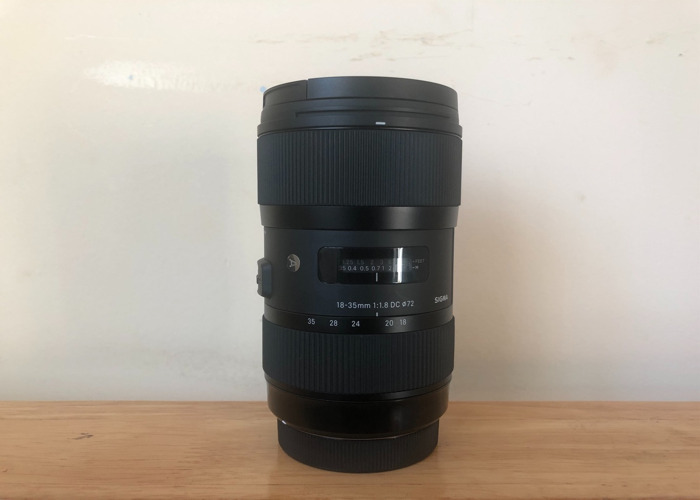 SIGMA Art 18-35mm F1.8 DC HSM (FOR CANON) - 1