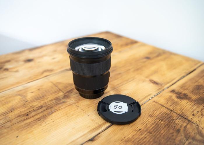 Sigma Art 50mm f/1.4 Canon EF Lens - 1