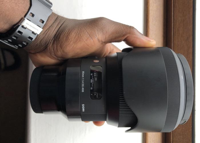 Sigma Art 85 1.4 lens for Sony E/Fe Mount - 1