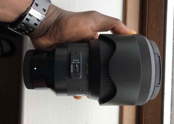 Sigma Art 85 1.4 lens for Sony E/Fe Mount - 2