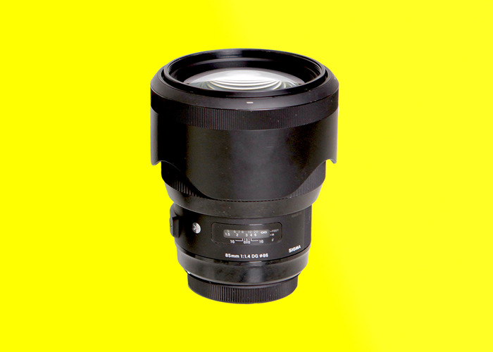 Sigma Art 85mm f1.4 DG - 1