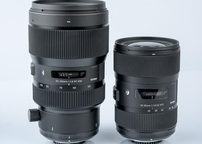 Sigma Art Lens Kit EF Mount - 18-35, 50-100 - 1