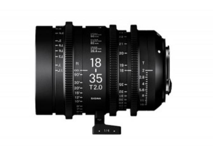 Sigma Cine PL 18-35mm T2.0, Sigma 50mm T1.5, Sigma 85mm T1.5 - 1