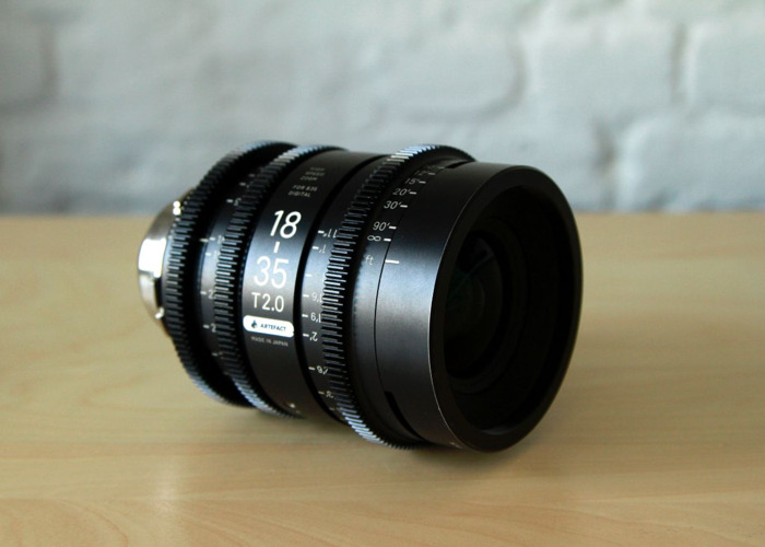 Sigma Cine Zoom Lens Set PL 18-35mm & 50-100mm - 2