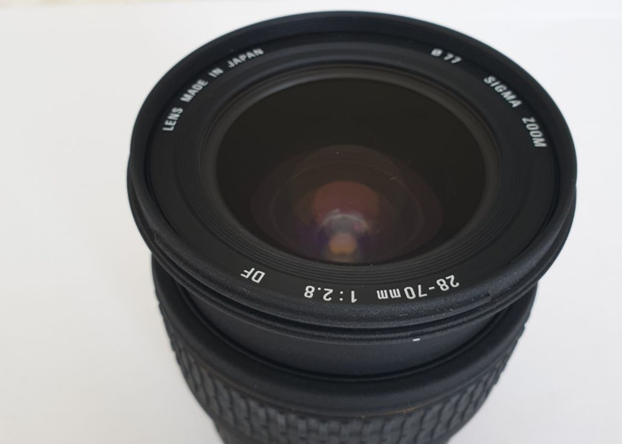 Sigma DF EX aspherical 28-70mm F2.8 for Canon EOSR, DSLR, 35 - 2