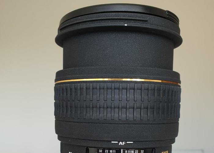 Sigma DF EX aspherical 28-70mm F2.8 for Canon EOSR, DSLR, 35 - 1
