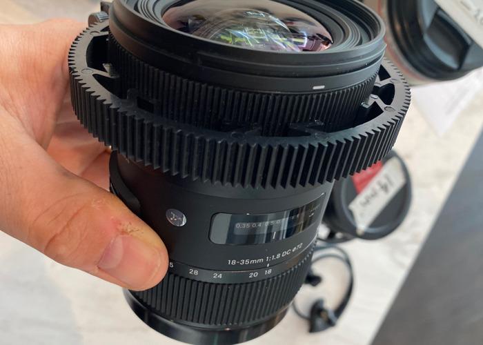 Sigma EF 18-35mm 1.8  - 1