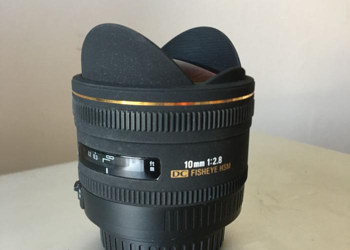 Sigma EX 10mm fisheye 2.8 HSM - 1