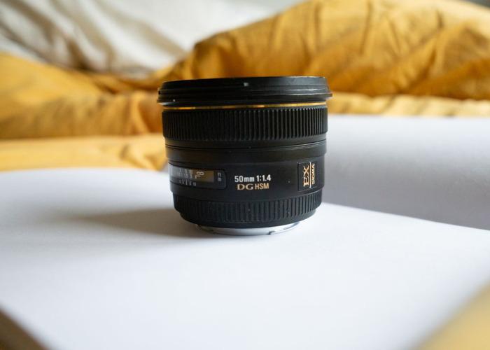 SIGMA EX 50mm f/1.4 DG HSM - 2