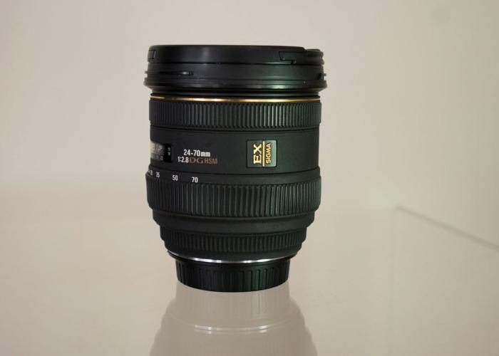 Sigma EX Lense 24-70mm 1:2.8 DGHSM - 1