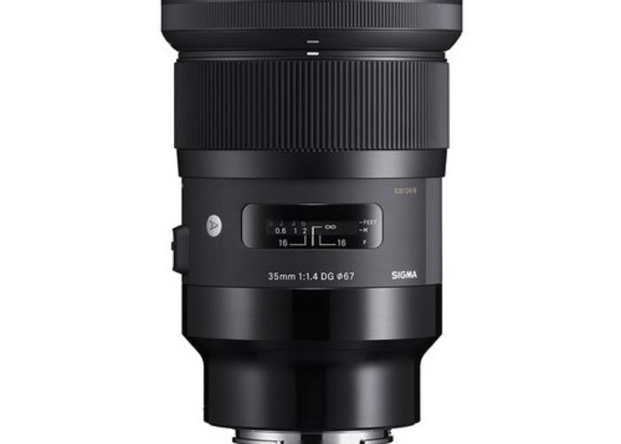 Sigma lens 35mm f1.4 - 1