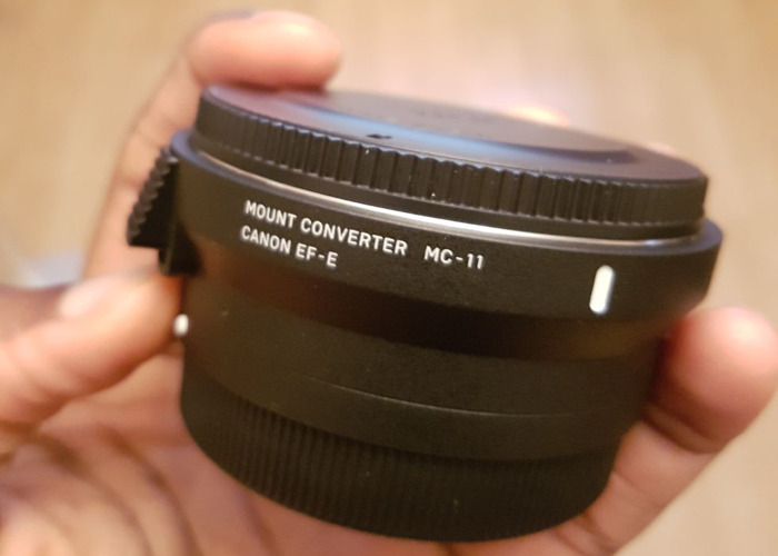 Sigma MC-11 adapter (For Canon EF and Sigma lenses) - 1