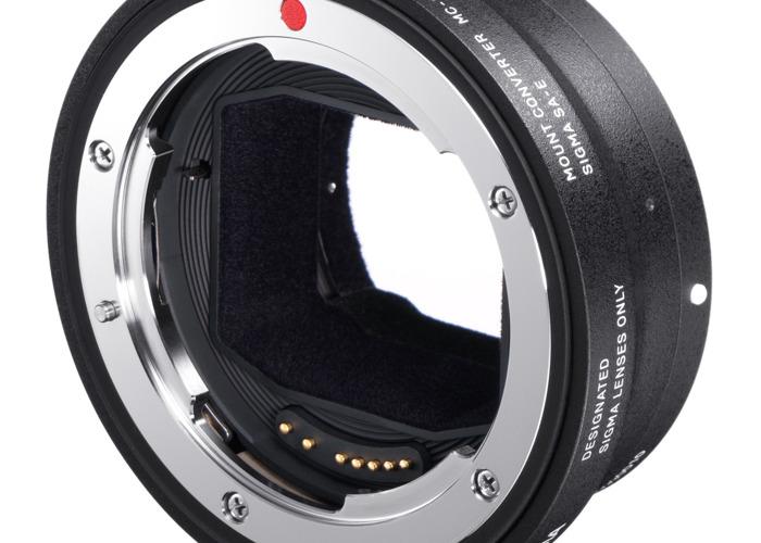 Sigma MC-11 Canon EF to Sony E-mount adapter - 2