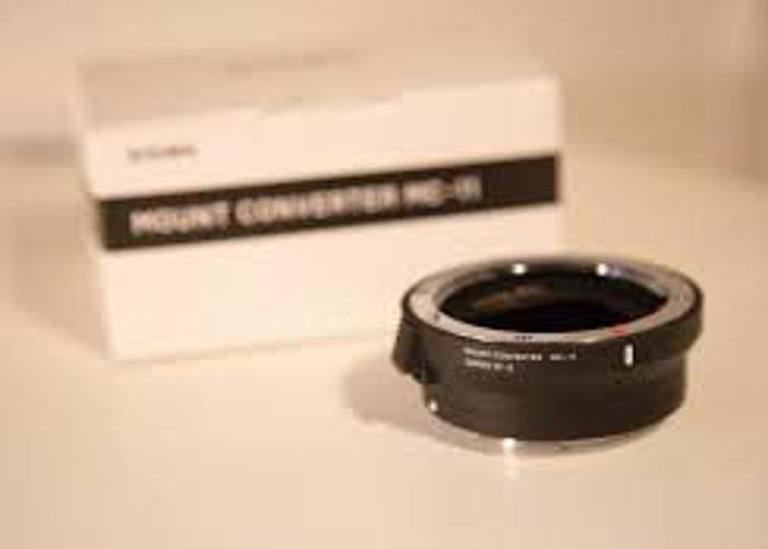 Sigma MC11 Converter | Canon EF Sony E Mount | A7iii A7riii - 1