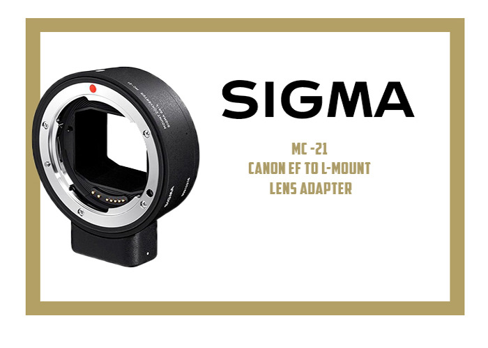 SIGMA MC-21 CANON EF TO L-MOUNT LENS ADAPTER - 1