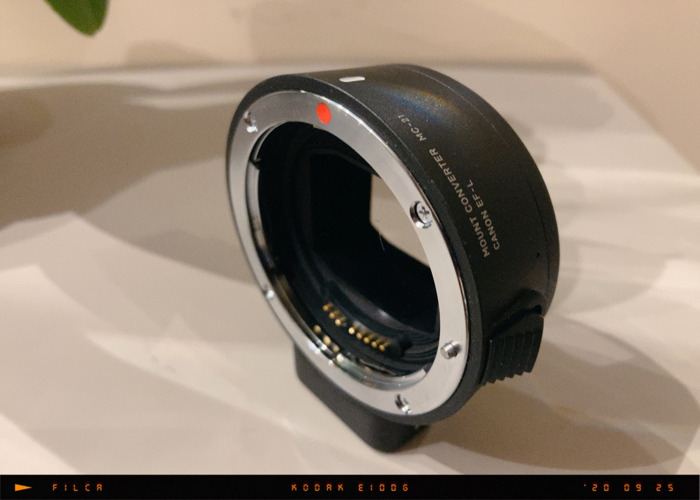 SIGMA MC-21 CANON EF TO L-MOUNT LENS ADAPTER - 2