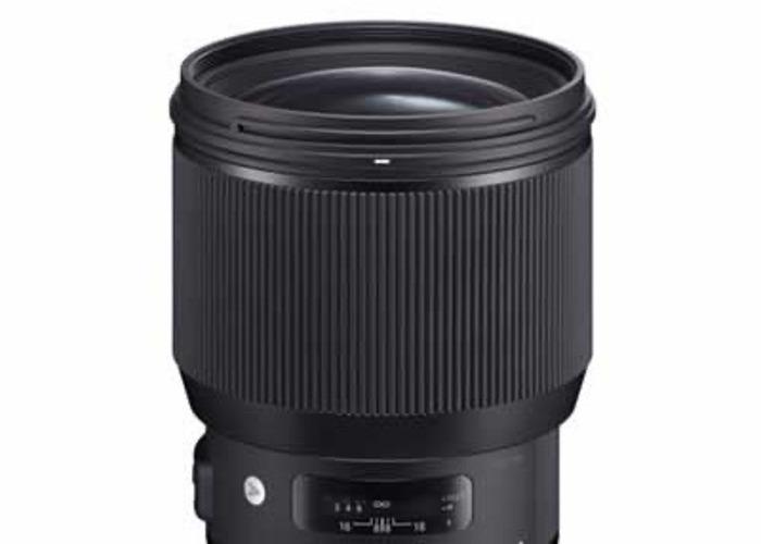 Sigma Nikon Art 80mm  - 1