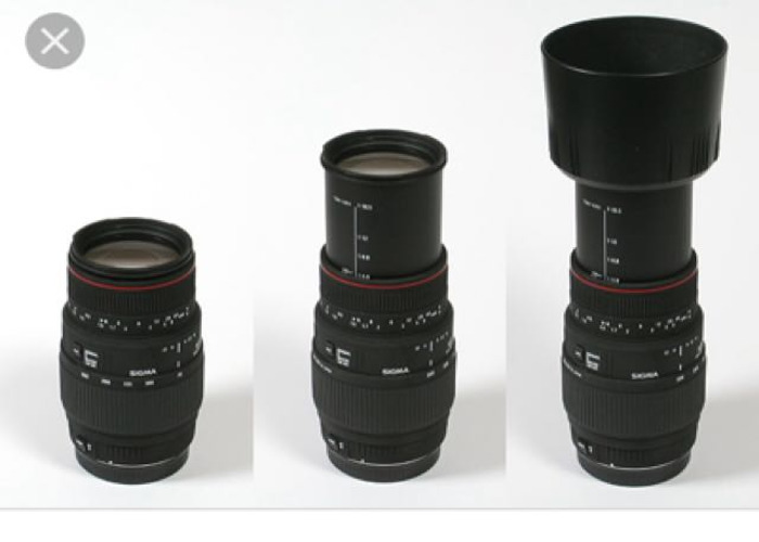 sigma-af-70-300mm-f4-56 Canon Fit - 1