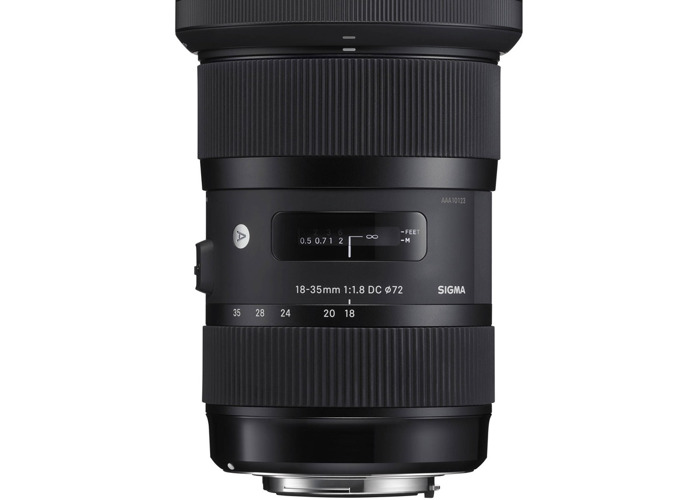 Signa HSM art 18-35m 1.8 EF with E mount adapter  - 1