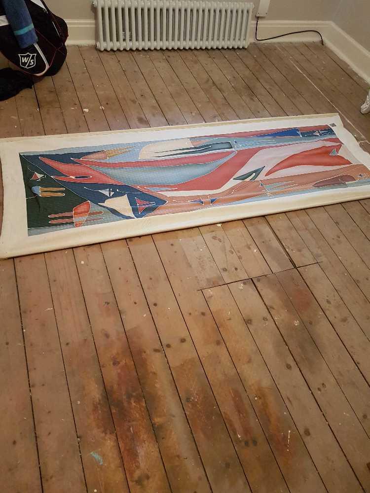 Silk wall print - 1