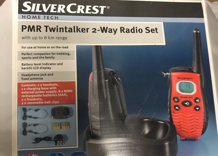 Silvercrest Two Way Radio Walkie Talkie Set - 1