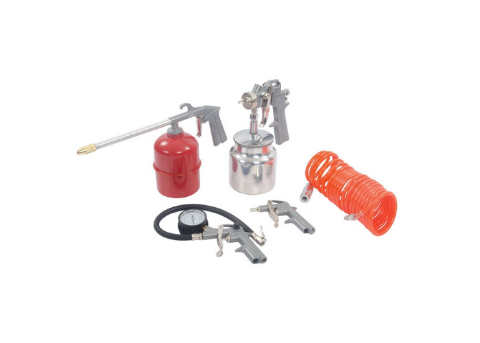 Silverline 633548 Air Tools & Compressor Accessories Kit 5pce 5pce - 1