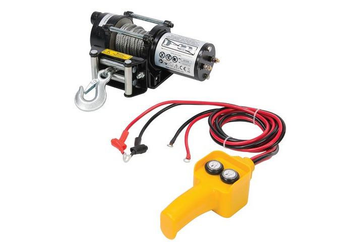 Silverline 748850 DIY 12V Electric Winch 2000lb - 1