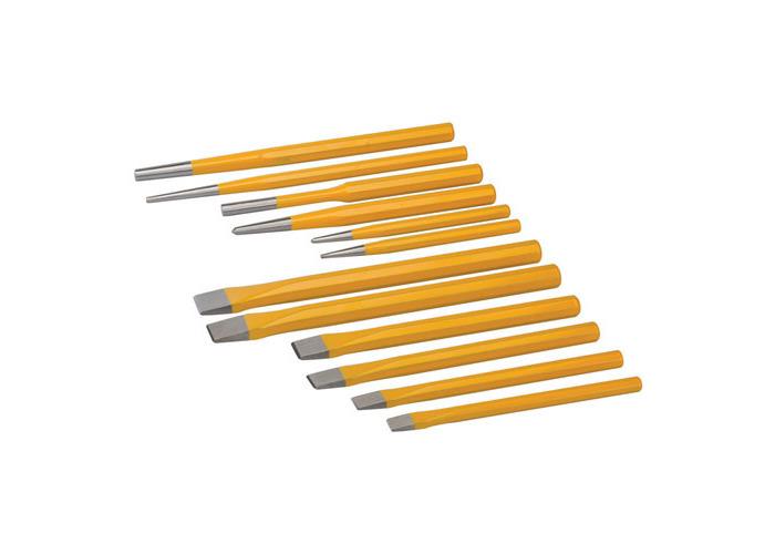 Silverline PC05 Punch & Chisel Set 12pce 12pce - 1