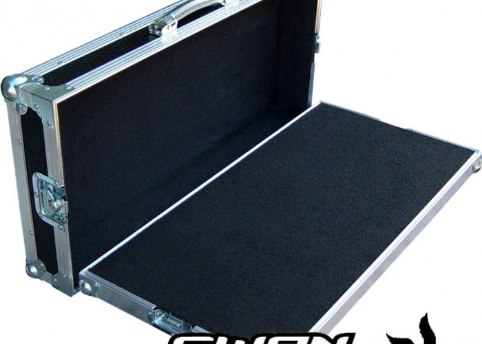 Single Level Guitar Pedal Board Case   - 1