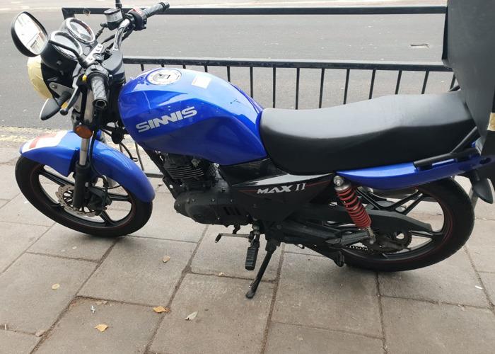 Sinnis Max 2 125cc motorcycle (ped) - 1