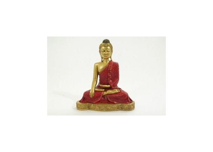 Sitting Thai Buddha Figurine Gift Set Statue - 1
