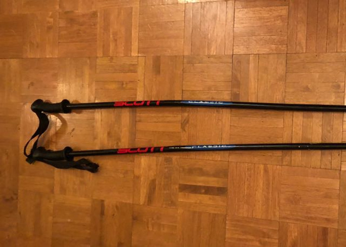 Skis, poles and boots - 1