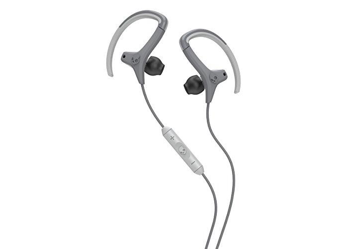 Skullcandy Chops In-Ear Sweat Resistant Sports Earbud, Light Gray/Dark Gray - 2