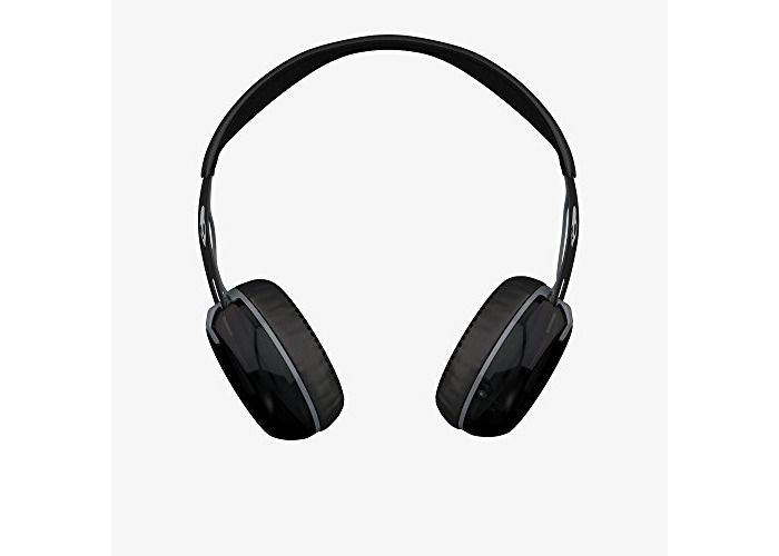 Skullcandy Grind Wired On-Ear Headphone with Taptech Playback Remote - Black/Grey - 2