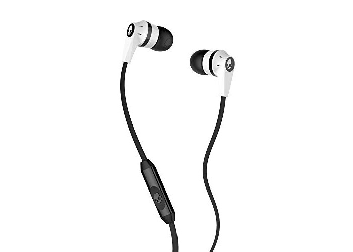 Skullcandy Ink'd 2.0 In-Ear Headphones with Mic - White/Black - 1