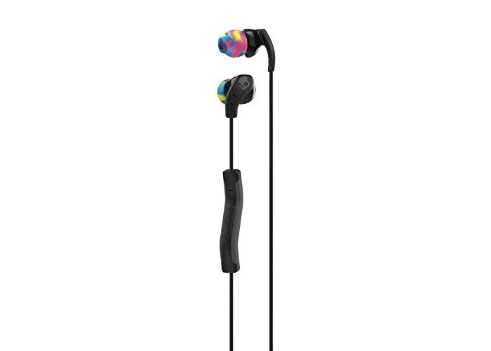 Skullcandy Method In-Ear Headphone with In-Line Mic - Black/Swirl/Cool Grey - 1