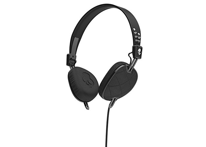 Skullcandy S5AVGM-395 Knockout Women's On-Ear Headphones with Mic & Remote, Floral/Burgundy/Rose Gold - 1