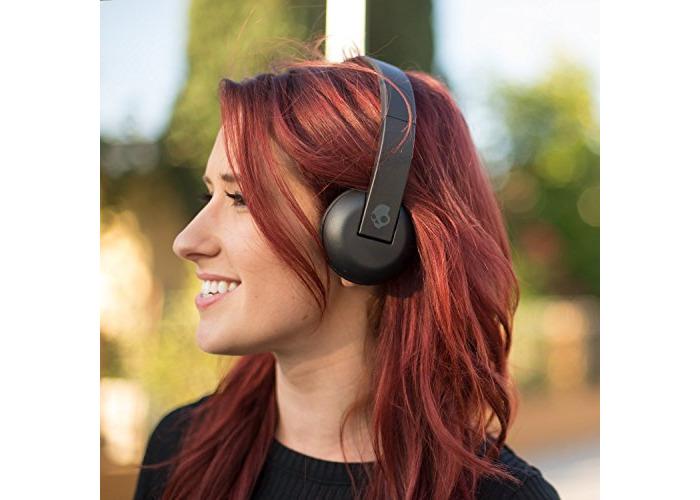 Skullcandy Uproar Bluetooth Wireless On-Ear Headphones - Black - 2
