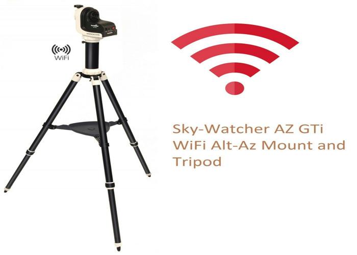 SkyWatcher AZ GTi WiFi Alt-Az Mount and Tripod 20314 (UK Stock)