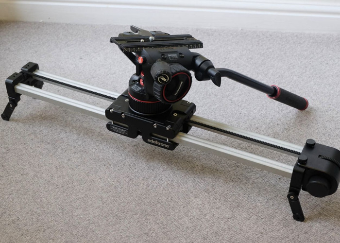 Slider Edelkrone PLUS Pro XLarge with Steady Module, 100mm bowl + N12 Nitrotech - 1