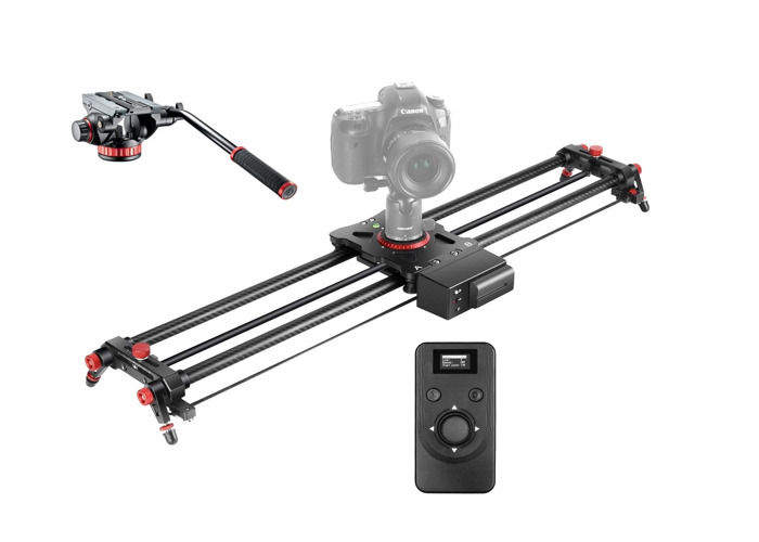 Slider Motorized - Carbon Slider 800mm Manfrotto Video Head - 1