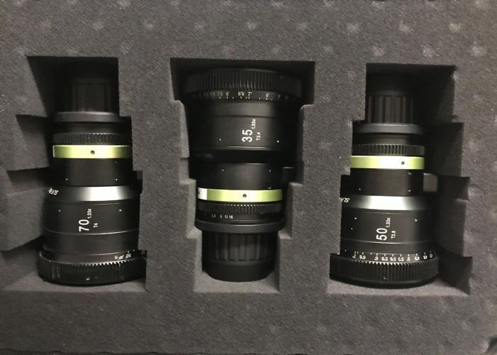 SLR magic 1.33x Anamorphic lens kit  - 1