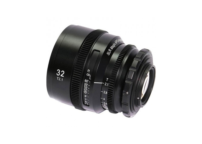 SLR Magic 32mm APO HYPERPRIME Cine APO32PL Lens with EF Adapter - 1