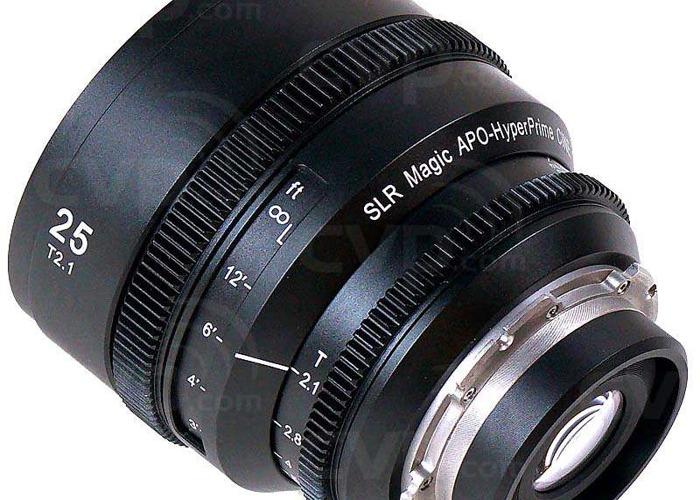 SLR Magic APO Hyperprime Cine Lens Kit 25mm, 50mm, 85mm 2.1 (Zeiss CP.2 CP.3 Comparable) - 2